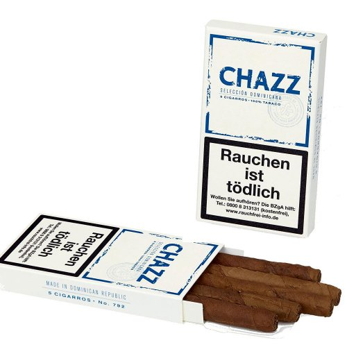 CHAZZ Cigarillos 5 Cigarros