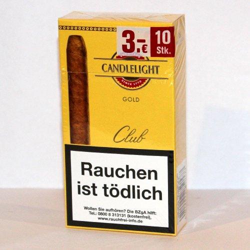 Candlelight Zigarren Club Gold 10er