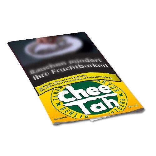 Chee Tah Tabak Gelb No 72 - 30g Päckchen Feinschnitt