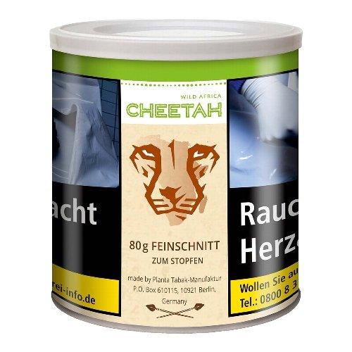 Chee Tah Tabak Grün Wild Africa 80g Dose ohne Zusätze Feinschnitt