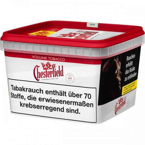 Chesterfield Tabak Rot 170g Mega Box Volumentabak