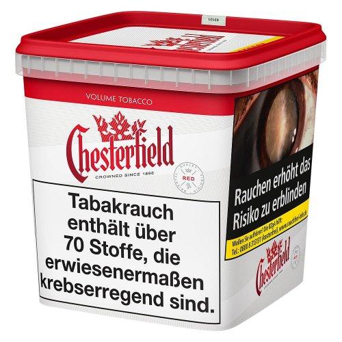 Chesterfield Tabak Rot 260g Super Box Volumentabak