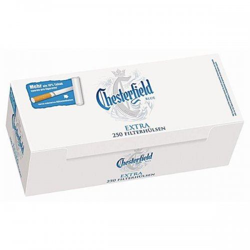 Chesterfield Zigarettenhülsen Blue Extra 250 Stück