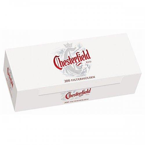 Chesterfield Zigarettenhülsen Red 200 Stück
