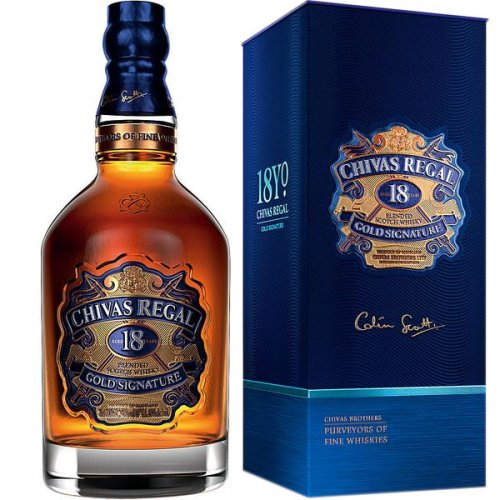 Chivas Regal 18 Years old Whisky 40% vol.