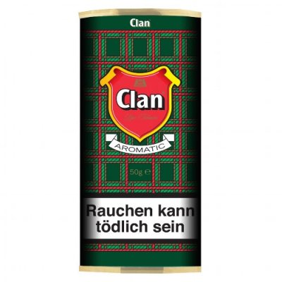 Clan Original Pfeifentabak Aromatic 50g Pouch