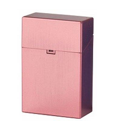 Clic Box Zigarettenbox 20er Metallikfarbig Rot