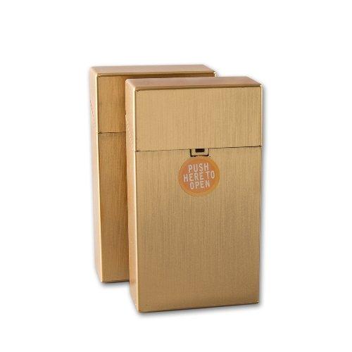 Clic Boxx Zigarettenbox 100mm Gold