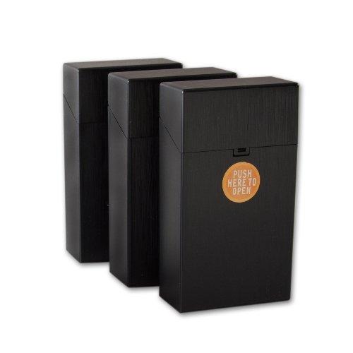 Clic Boxx Zigarettenbox 100mm Schwarz