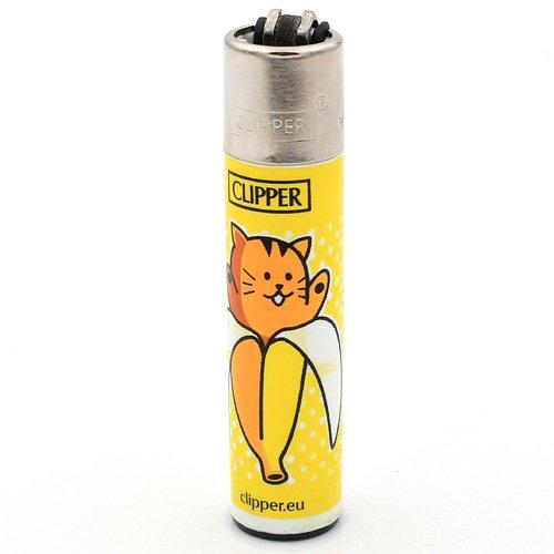 Clipper Feuerzeug Bananen - 2v4 KATZE