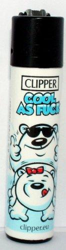 Clipper Feuerzeug Eisbären - 3/4 Cool as Fuck
