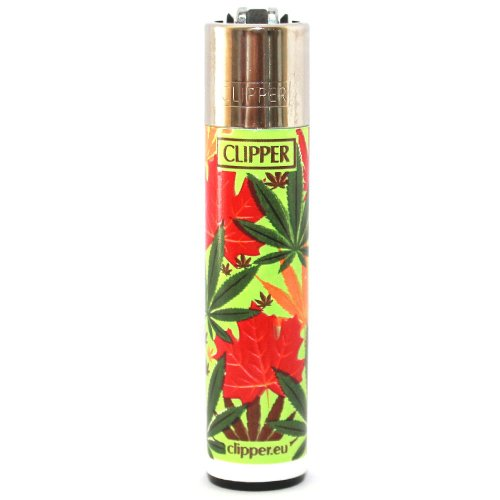 Clipper Feuerzeug Herbst Leaves - 3/4