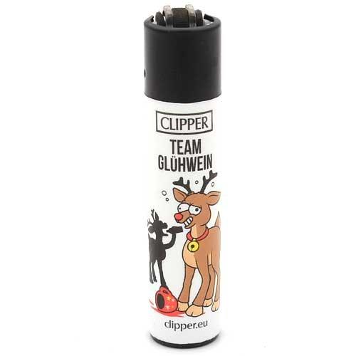 Clipper Feuerzeug Rentiere - 1v4 TEAM GLÜHWEIN