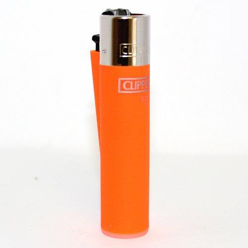 Clipper Feuerzeug Soft orange