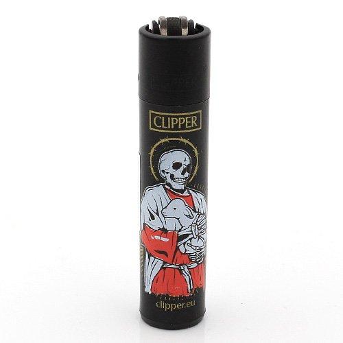 Clipper Feuerzeug Tattoo 3 - 1v4 SKULL PRIEST