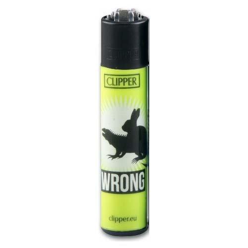Clipper Feuerzeug Wrong # 2 - 1/4