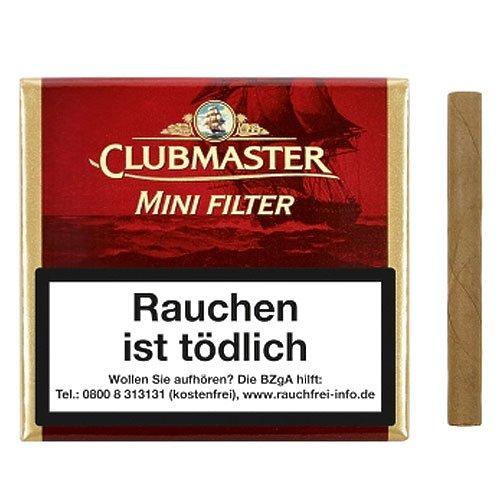 Clubmaster Mini Superior Filter Zigarillos