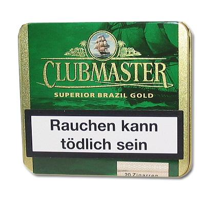 Clubmaster Zigarillos Superior Brasil Gold 164