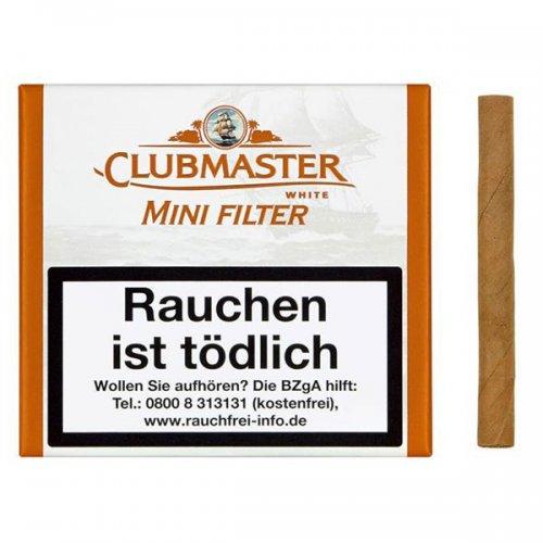 Clubmaster Zigarillos White Mini Filter