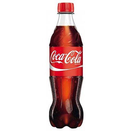 Coca-Cola PET//DPG Einweg 0,5l Flasche incl. Pfand 0,25 Euro