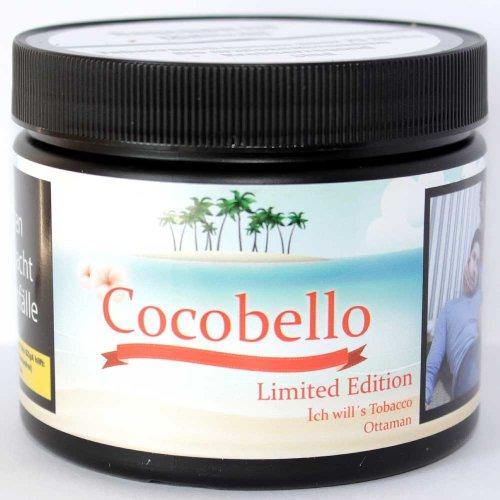 Cocobello Shisha Tabak 200g Dose