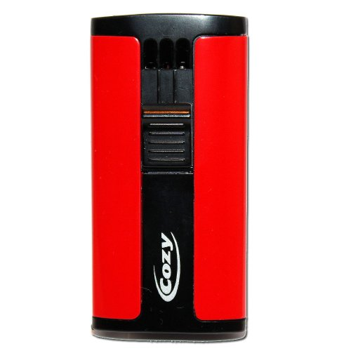 Cozy Rot Cigarrenfeuerzeug Jet-Flame
