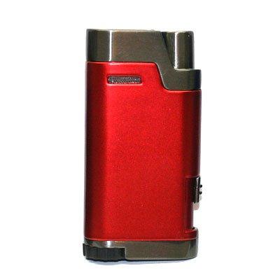 Cozy Zino Doppel-Jet Rot Feuerzeug