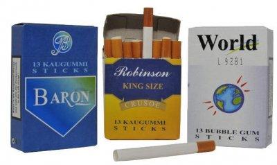 DOK Kaugummisticks mit Zauber-Rauch Effeckt 1 x 13 Stück