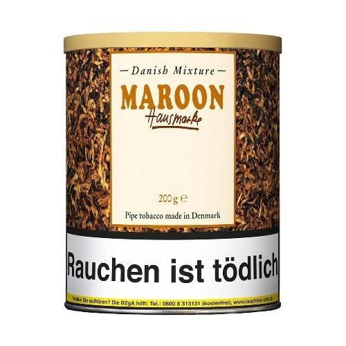 Danish Mixture Pfeifentabak Maroon Hausmarke (ehem. Choco Nougat) 200g