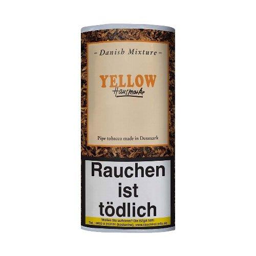 Danish Mixture Yellow Pfeifentabak (ehem. Mango) Hausmarke 50g Päckchen