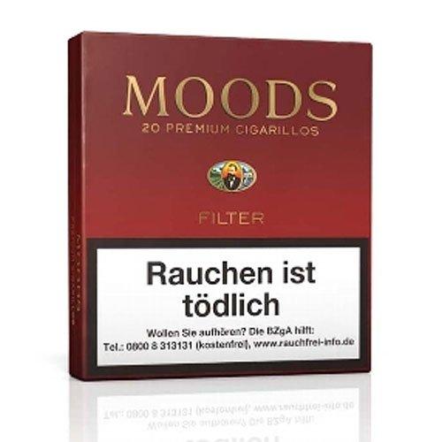 Dannemann Moods Filter Zigarillos 20er