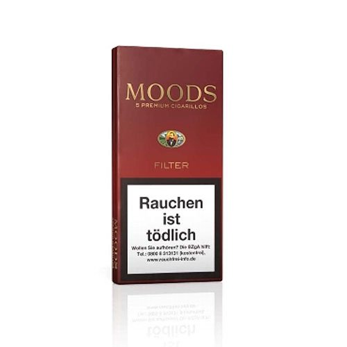 Dannemann Moods Filter Zigarillos 5er