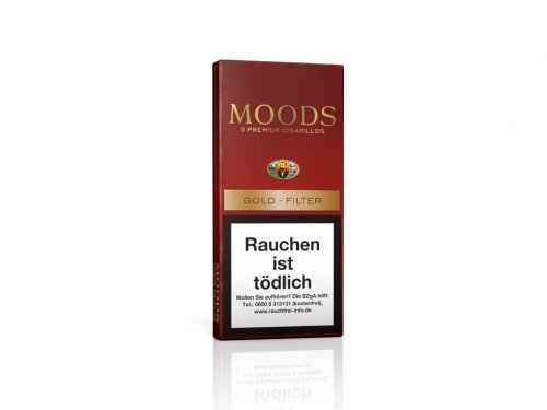Dannemann Moods Golden Taste 5 Stk Zigarillos mit Filter