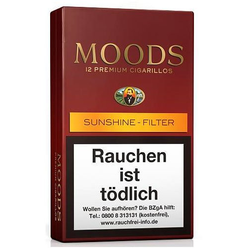 Dannemann Moods Sunshine Filter Zigarillos 12er