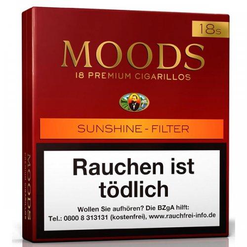 Dannemann Moods Sunshine Filter Zigarillos 20 Stück