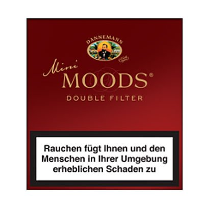 Dannemann Moods Zigarillos Mini Double Filter 10er
