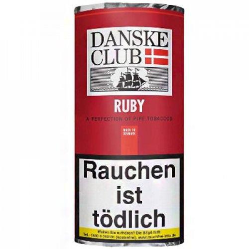 Danske Club Ruby Pfeifentabak 50g Päckchen