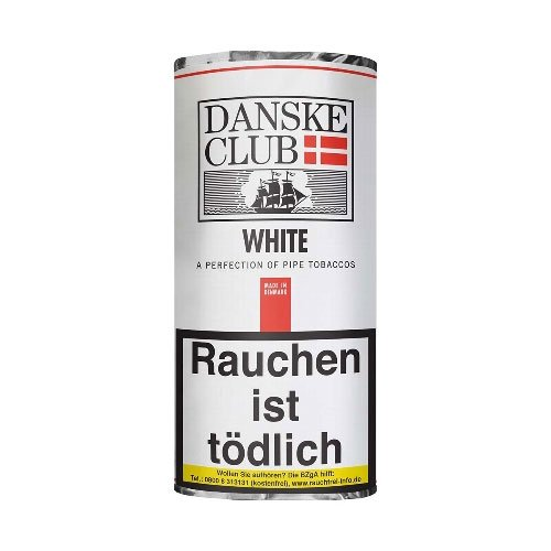 Danske Club Pfeifentabak White (Luxury) 50g Packung