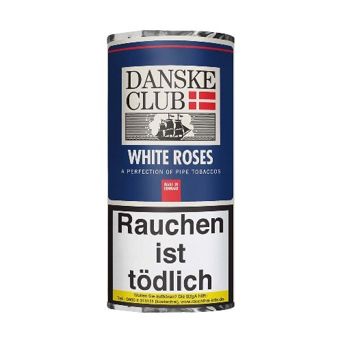 Danske Club Pfeifentabak White Roses 50g Päckchen
