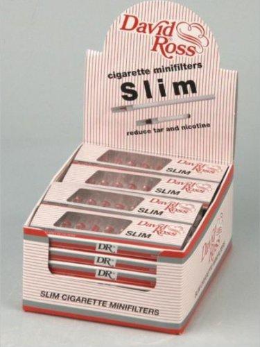 David Ross Filteraufsatz Slim 5mm 10 Zigarettenfilter