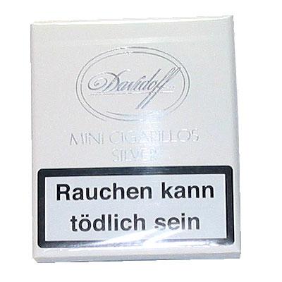 Davidoff Zigarillos Mini Silver 20er
