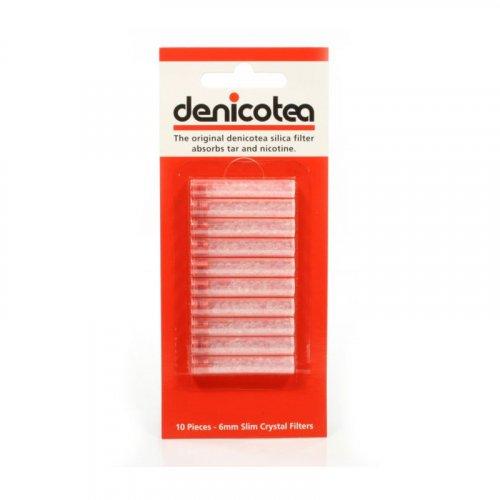 Denicotea Slimline Filter 6mm - 10 Stück
