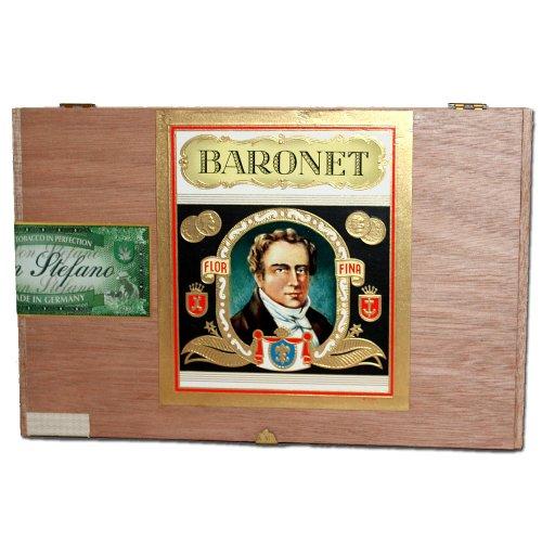 Don Stefano Baronet Sumatra Fehlfarben 100% Tobacco Cigarren 25er