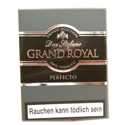 Don Stefano Grand Royal Perfecto Zigarren 5er