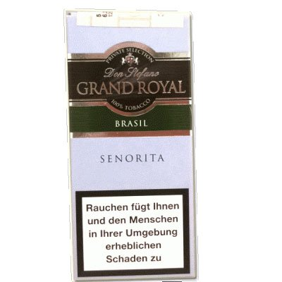 Don Stefano Grand Royal Senorita Brasil Cigarren