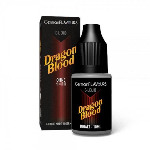 GF Dragon Blood e-Liquid 0 mg Nikotin