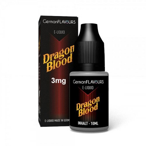 GF Dragon Blood e-Liquid 3 mg Nikotin