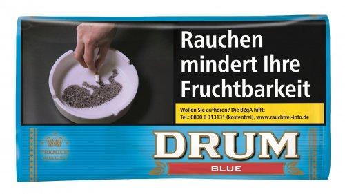 Drum Tabak Blue 30g Päckchen Zigarettentabak