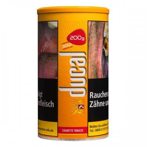 Ducal Tabak Gold 200g Dose Zigarettentabak