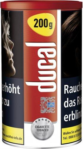 Ducal Tabak Rot Real 200g Dose Zigarettentabak